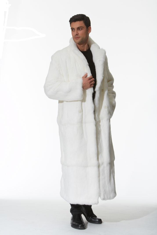 Mens Fur Coats White  Tradingbasis