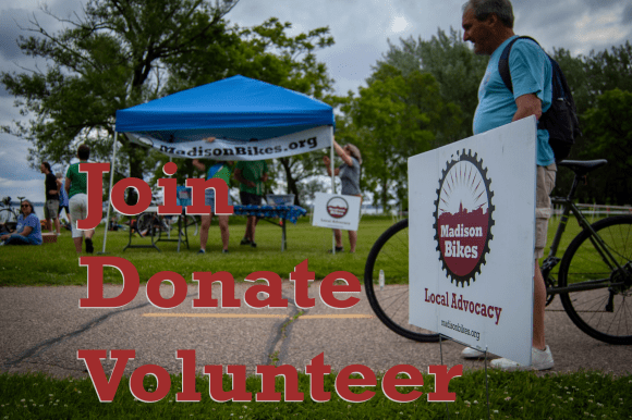 Join Donate Support Madison Bikes in 2019
