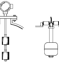 typical float switch installation fittings [ 1484 x 581 Pixel ]