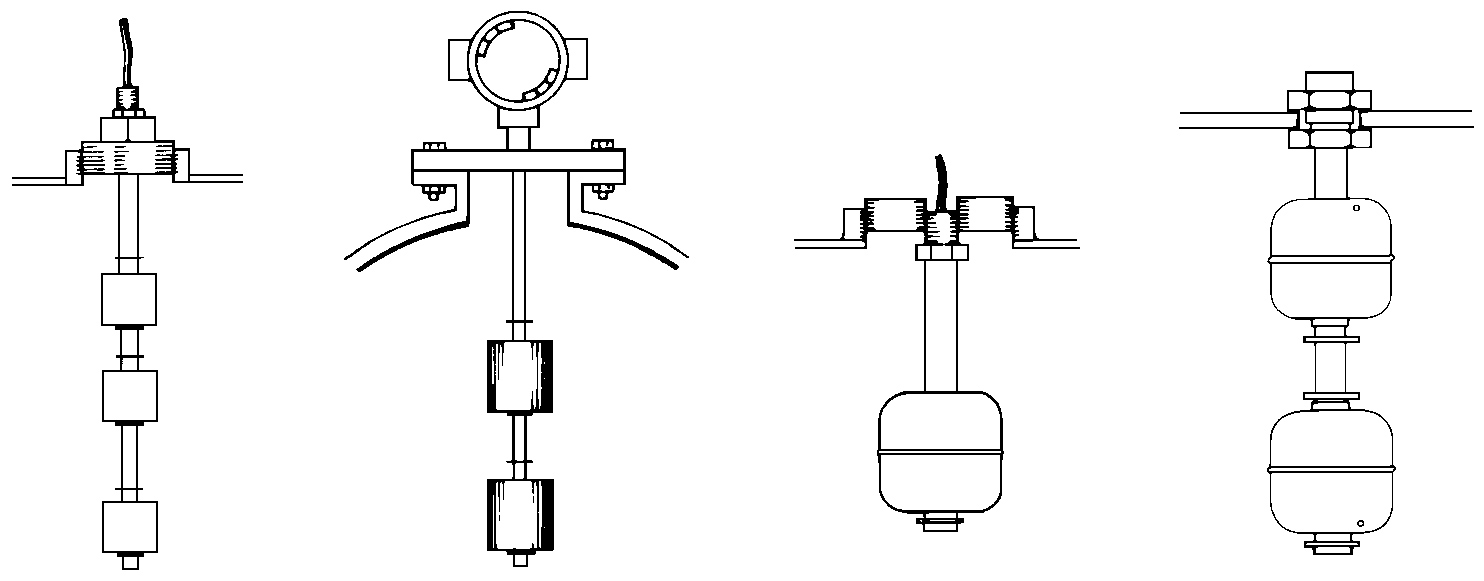 hight resolution of typical float switch installation fittings