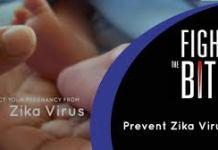 poster regarding zika symptoms