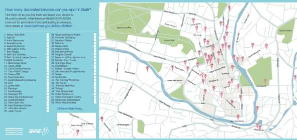 Bath Bike Trail map