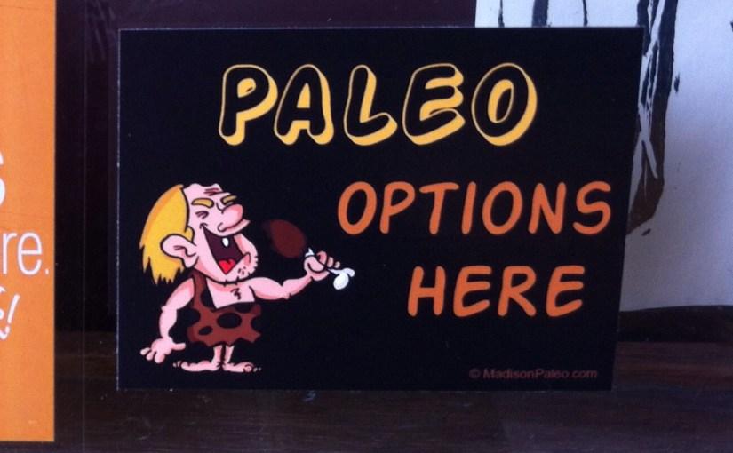 paleo options window decal