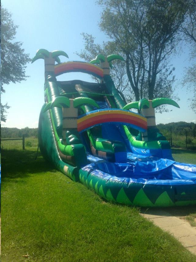 TROPICAL WATER SLIDE Rentals Madison GA Where to Rent