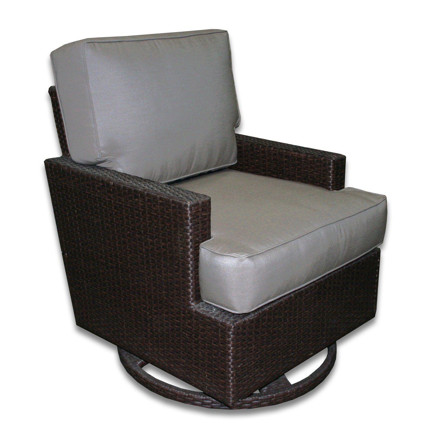 swivel chair price philippines ergonomic office new zealand signature outdoor rocker with graphite fabric by