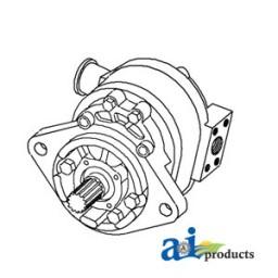 1 Gpm Hydraulic Pump Belt-Driven Hydraulic Pump Wiring