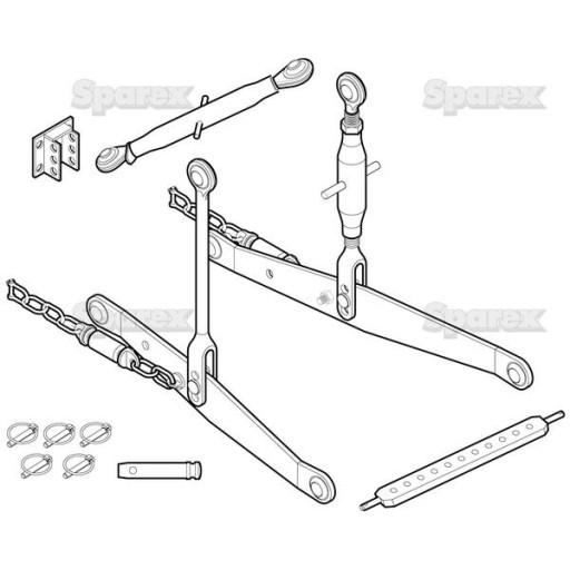 S.70571 3-Point Hitch Kit, Yanmar