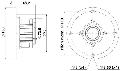 ScanSpeak Revelator D2905/9900-00 1