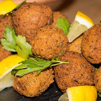 Sprøde falafel