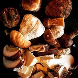 Syltede svampe
