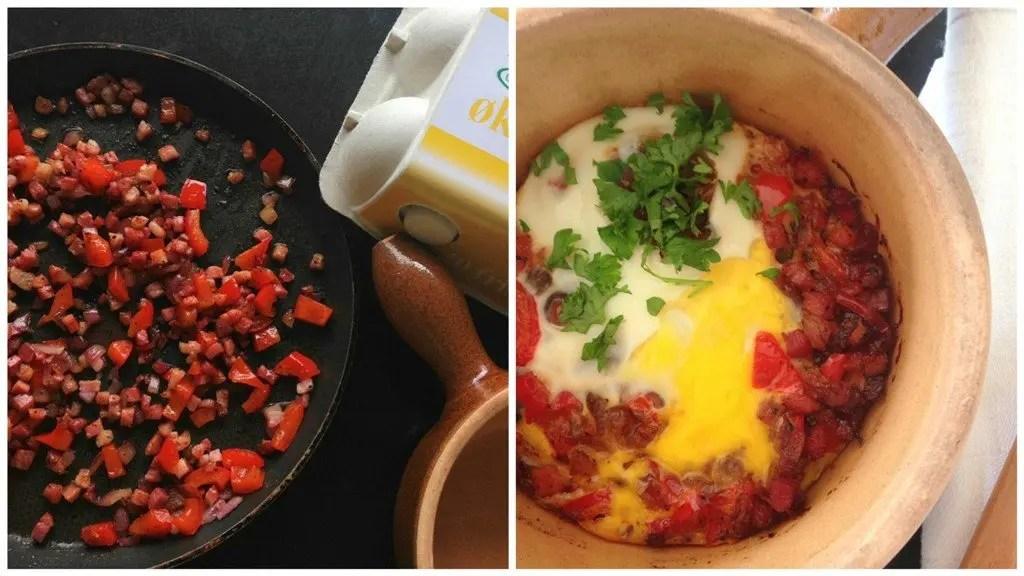 Æg i ovn