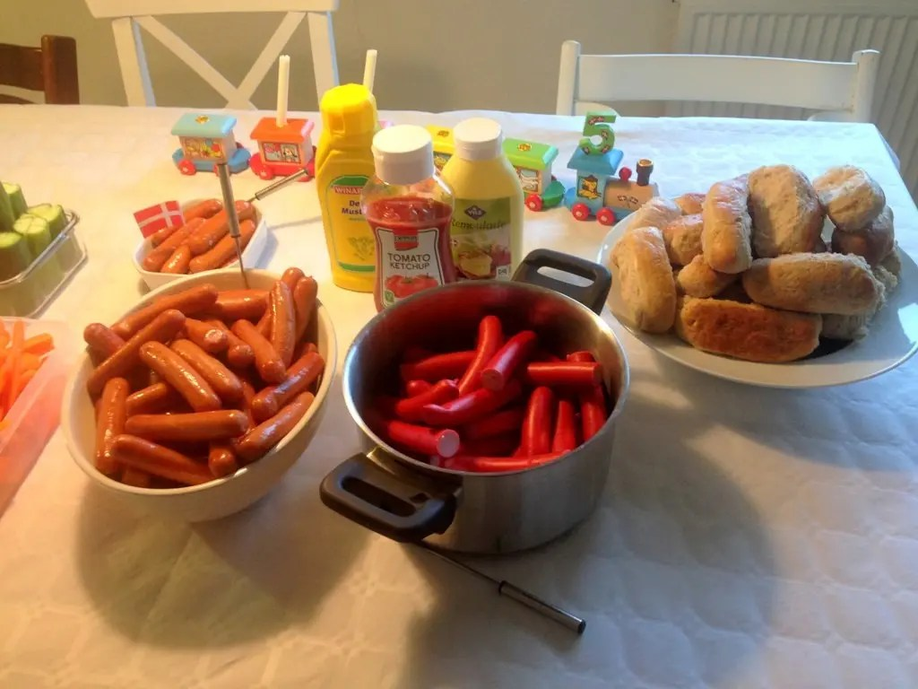 5 års fødselsdag mad