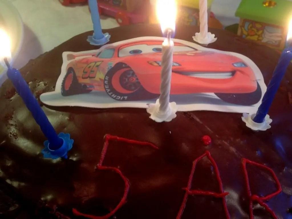5 års børnefødselsdag