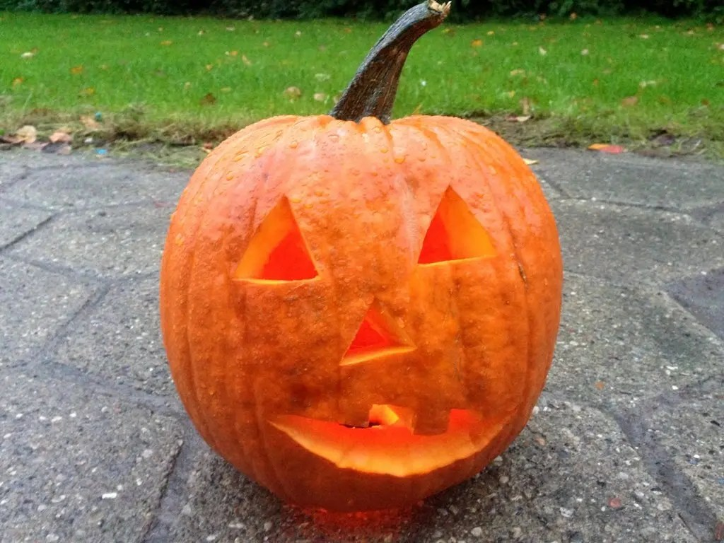 Lav en græskarlygte til halloween
