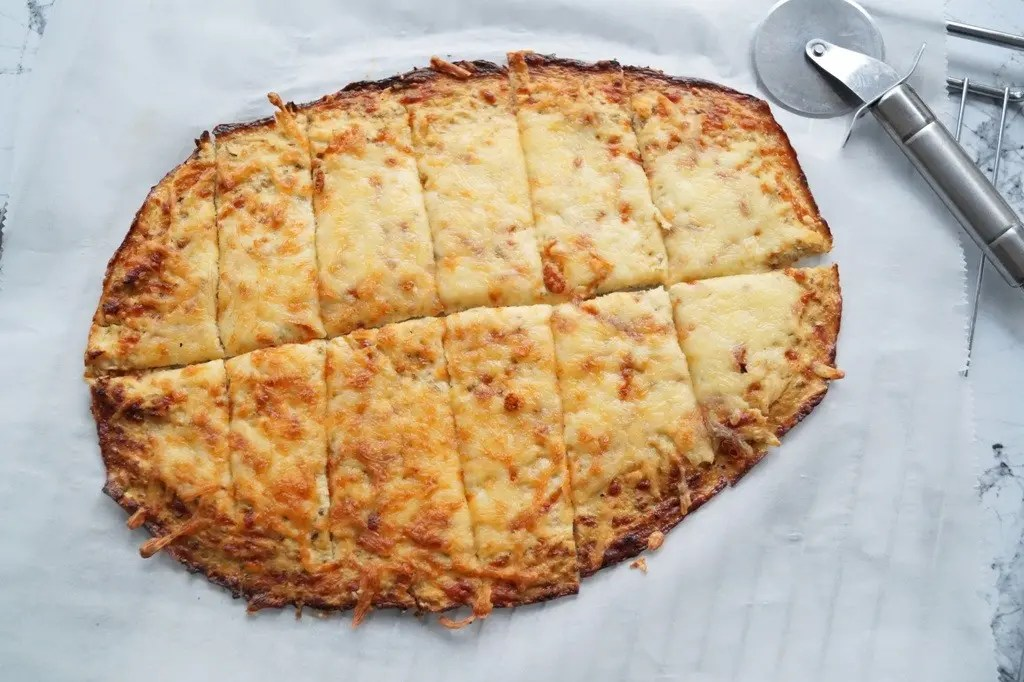 Low carb ostebrød