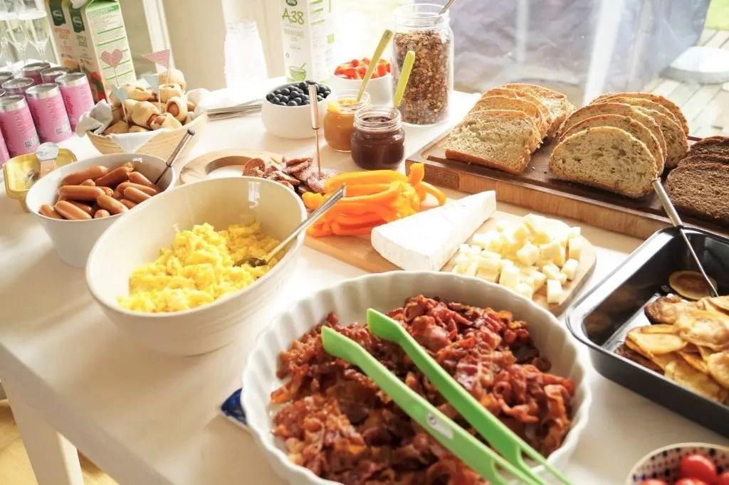 Fødselsdag morgenmad