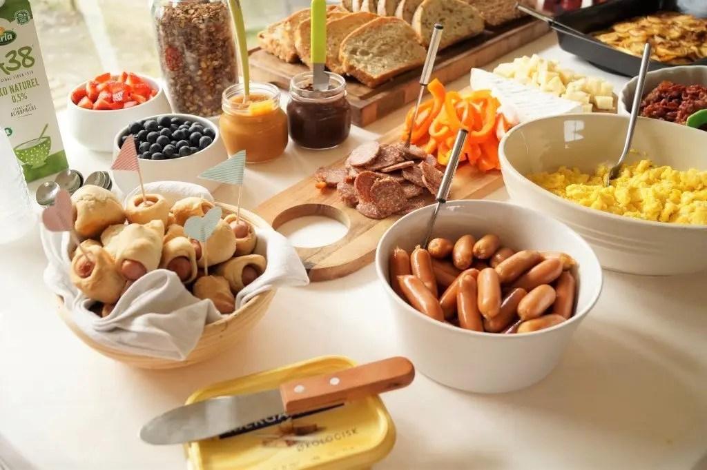 Ideer til brunch buffet