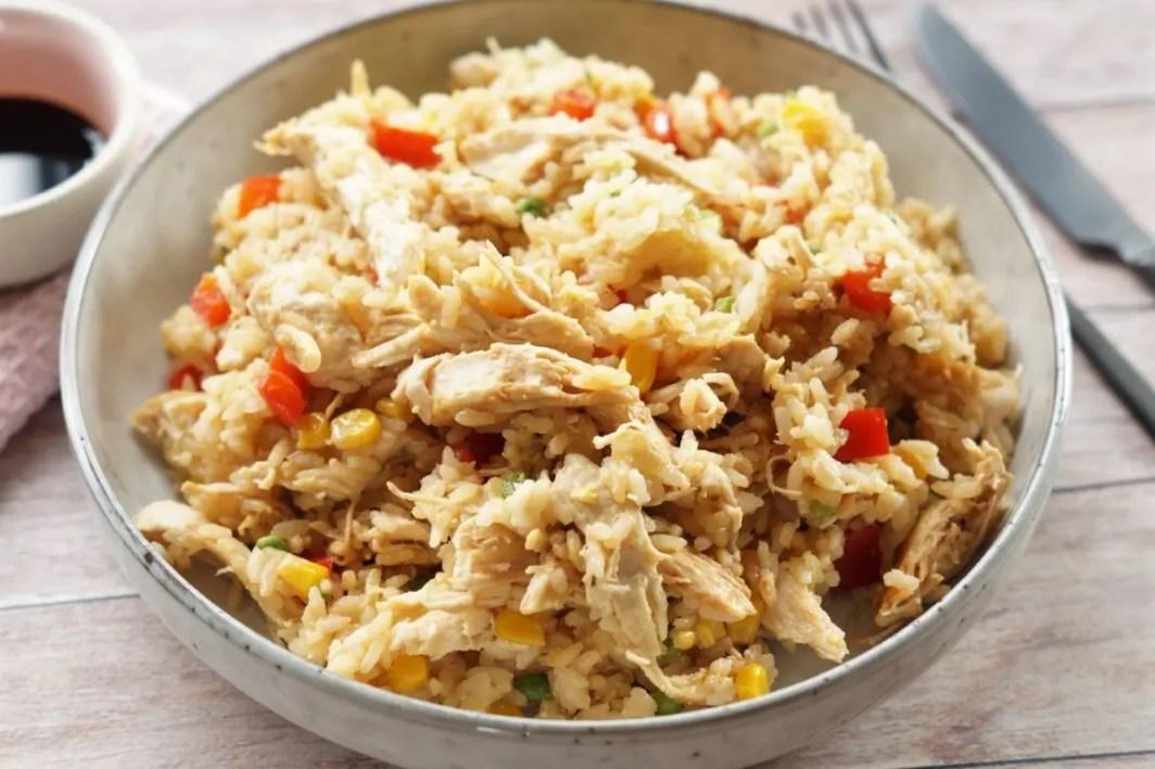 Stegt ris