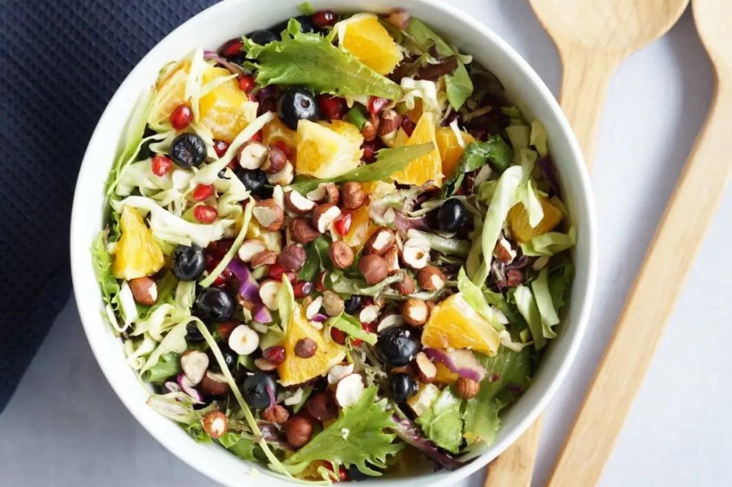 Opskrift - spidskål salat