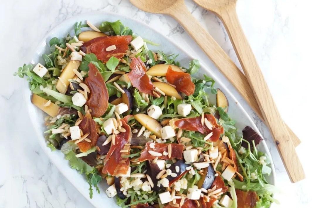Salat med bulgur