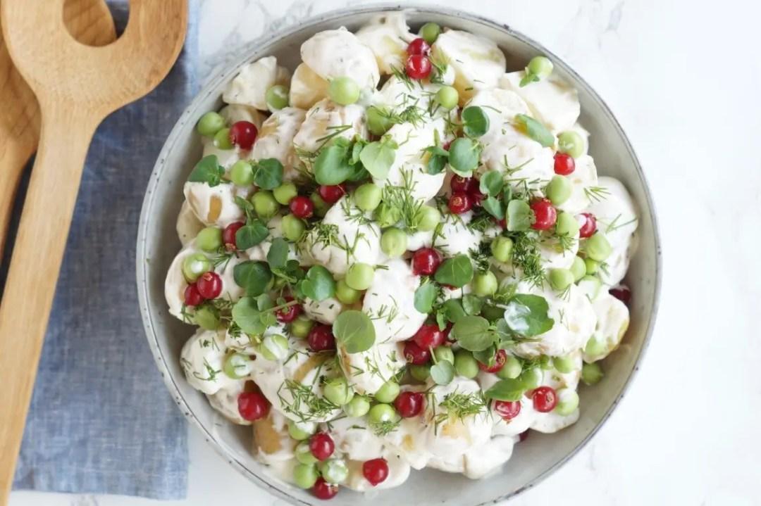 hjemmelavet kartoffelsalat