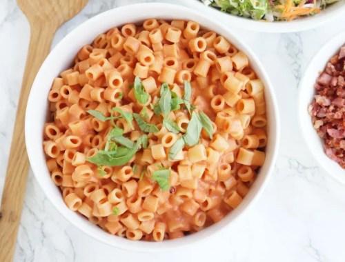 Pasta med tomatsauce