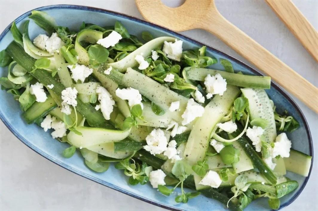 Salat med agurk