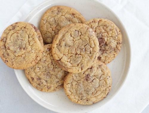Cookies med Toblerone