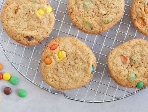 Cookies med m&m