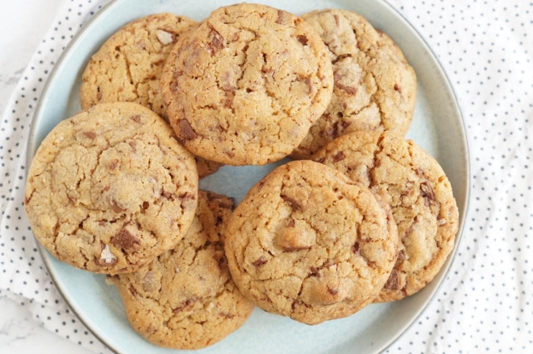 cookies med kitkat