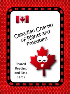 This Canadian Charter of Rights and Freedoms lesson is actually a three part series that will set students up for an inquiry study! Click through to check it out!