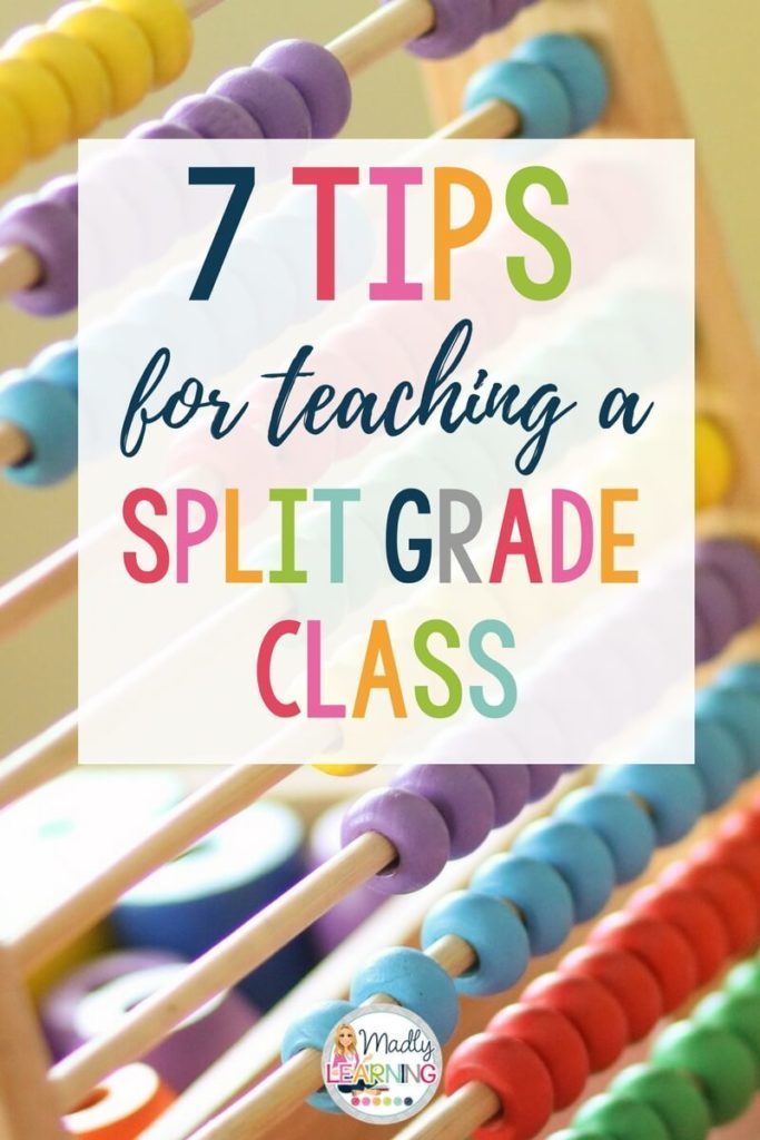 Though it might make you nervous, there are many benefits to teaching a split. Here are a few tips for teaching a split grade class!