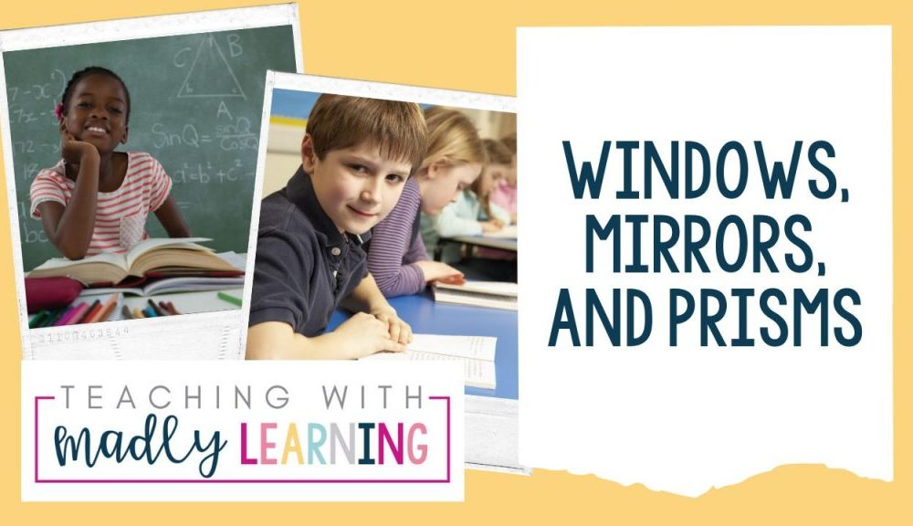 EP 169 Windows Mirrors and Prisms classroom literature, books,