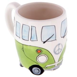 Mad Merch Camper Van Green Mug