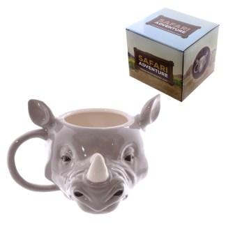 Mad Merch Rhino Head Mug