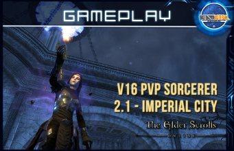 ESO 2.1 - PVP Sorcerer v16 Imperial City