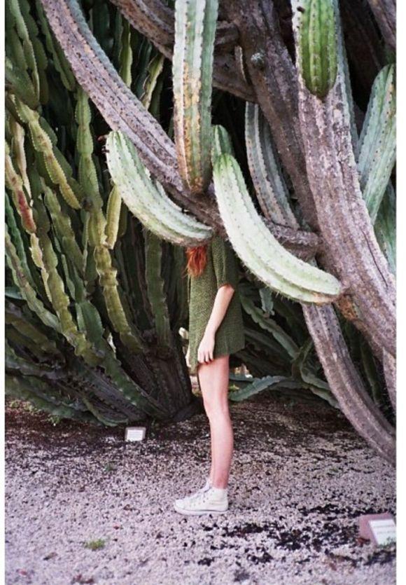 Cactus girl