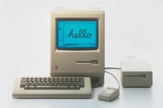 First Apple Macintosh