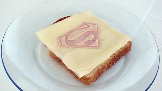 superman sandwich