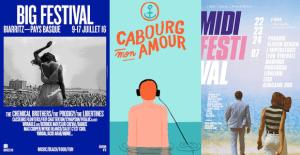 Les plus belles affiches de festival de 2016