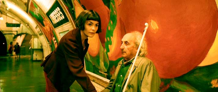 Scène Culte #8 : Amélie Poulain, la scène de laveugle AmelieBlinde