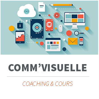 Formations et coaching en communication visuelle.
