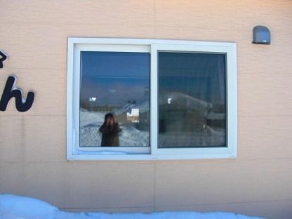 貼り付け前のお写真(1F窓ガラス)