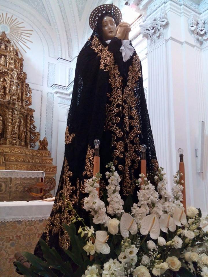 Venerd Santo a Polizzi la Madonna veste DG  Madonie Press