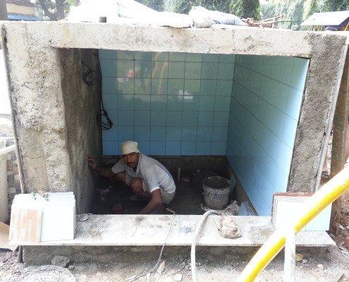 pond filtration room