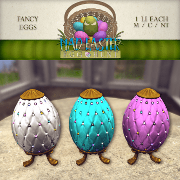 Fancy Eggs 1500 Points