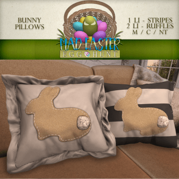 Bunny Pillows 2000 Points