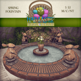 Spring Fountain 3000 Points