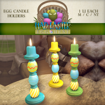 Egg Candle Holder 1000 Points