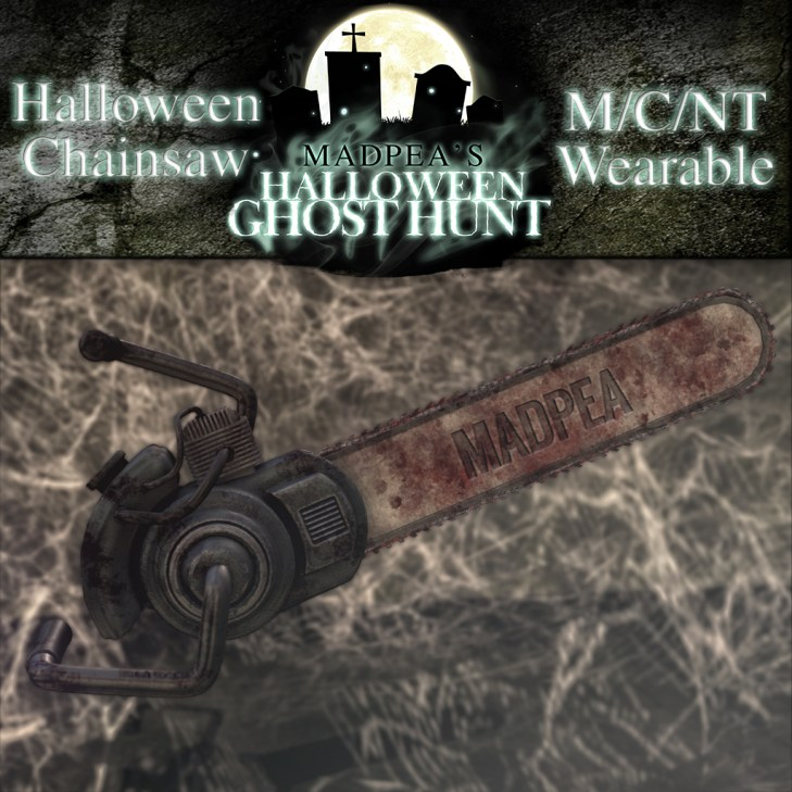 Halloween Bloody Chainsaw - 2500 points